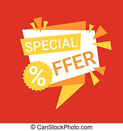 Special Offer Discount Big Sale Shopping Banner