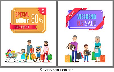 Special Offer Discount Weekend Best Sale Shopping