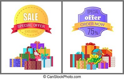Special Offer Exclusive Sale Order Now Discount