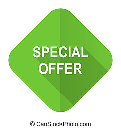 special offer flat icon