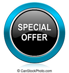 special offer glossy icon