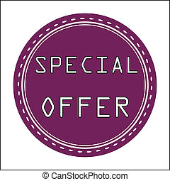Special Offer Icon, Badge, Label or Sticke