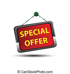 Special Offer icon button