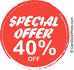 Special Offer Marks