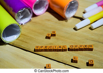 Special Offer on wooden blocks