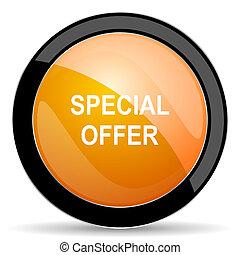 special offer orange icon