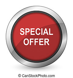 special offer red icon