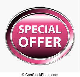 Special offer round button