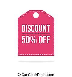 Special offer sale discount price label