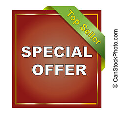 Special Offer - Special offer sticker on white background