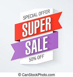 Special Offer Super Sale banner