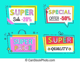 Special Offer Super Sale Set High Quality Labels