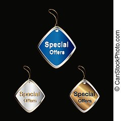 Special Offer Tag vector