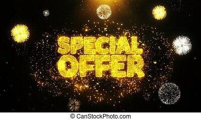 Special Offer Wishes Greetings card, Invitation, Celebration...