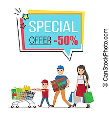 Special Offer with 50 Off Promotional Poster