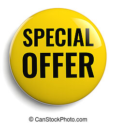 Special Offer Yellow Icon