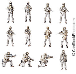 Special Operations Forces collection - Set of Army soldier...