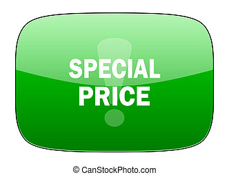 special price green icon