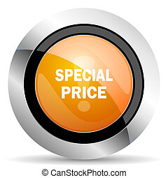 special price orange icon