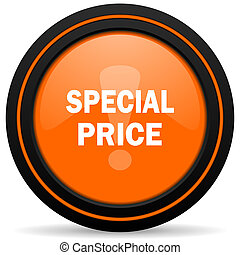 special price orange icon