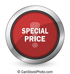 special price red icon
