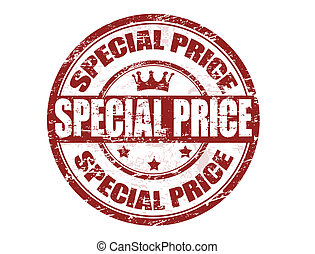 special price stamp - Grunge rubber stamp with the text...