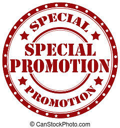 Special Promotion-stamp - Rubber stamp with text Special...
