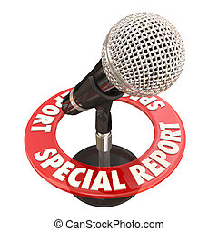 Special Report Microphone News Alert Important Update