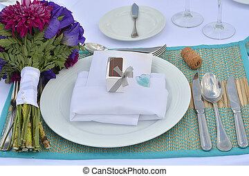 Special romantic dinner