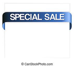 special sale blue ribbon - Horizontal special sale blue...