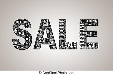Special sale discount wordcloud