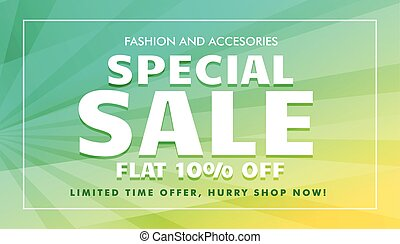 special sale offer template for marketing promotion
