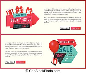 Special Sale, Products Offer, Best Choice Web