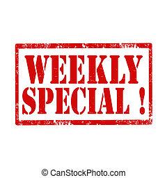special!-stamp, semanalmente