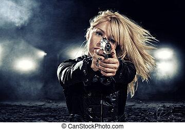 special tactics woman - special tactics sexy woman holding...