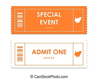special tickets for thanksgiving day