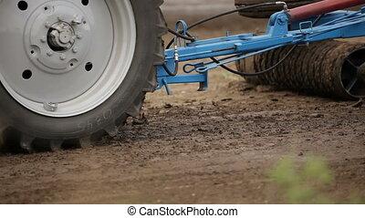 Special tractor