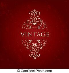 special vintage frame