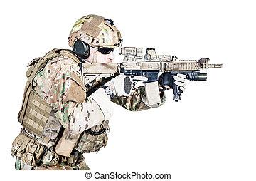special warfare operator - Bearded special warfare operator...