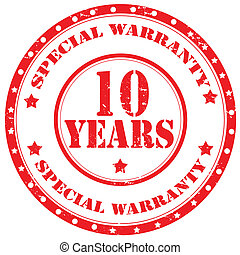 Special Warranty-stamp