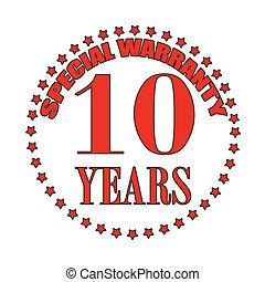 special warranty stamp