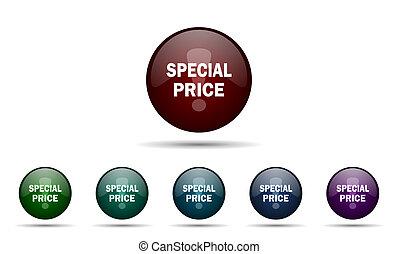 speciale, icona, prezzo