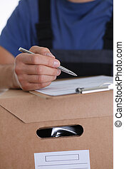 Specialist courier delivery service offers to fill the contract of cooperation