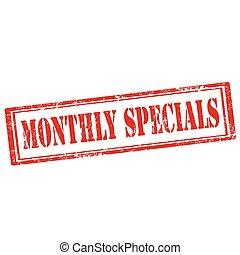 specials-stamp, maandelijks