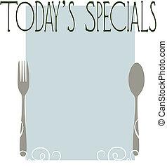 specials, today\'s