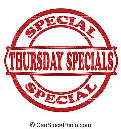 specials, torsdag