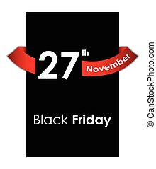 speciell, bakgrund, fredag, svart