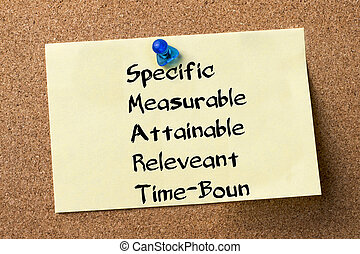 Specific Measurable Attainable Releveant Time-Bound SMART -...