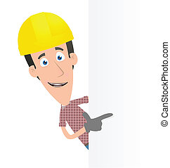 Specify a builder at a blank board on the side -...