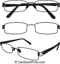 Spectacle Vector - image of glasses and spectacles vector...